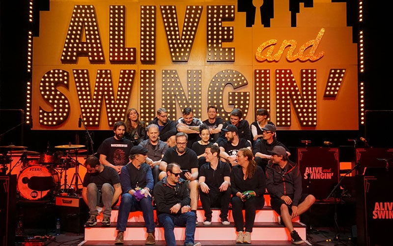 Karsten Schellenberg und ALIVE AND SWINGING