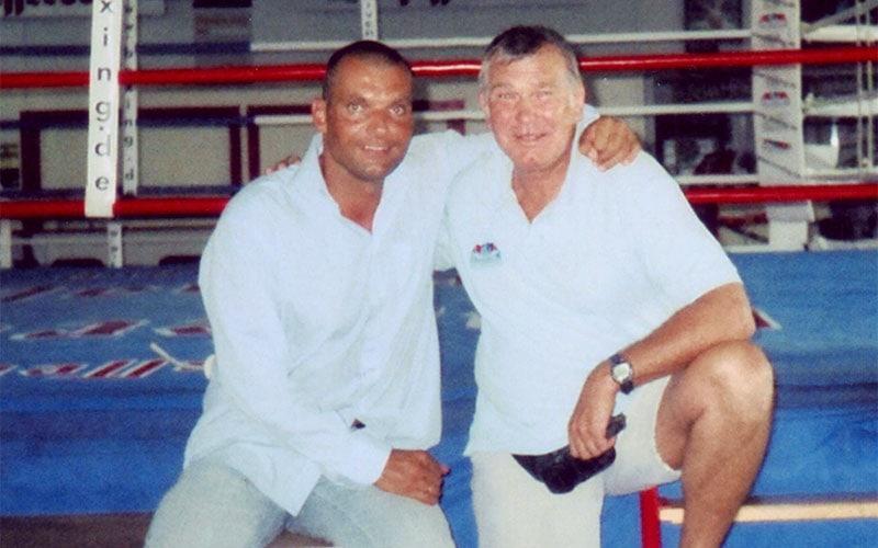 Karsten Schellenberg und Fritz Sdunek