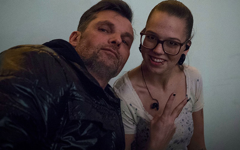 Karsten Schellenberg und Stefanie Heinzmann